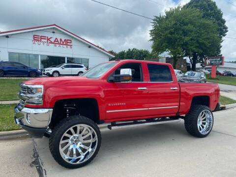 2016 Chevrolet Silverado 1500 for sale at Efkamp Auto Sales LLC in Des Moines IA