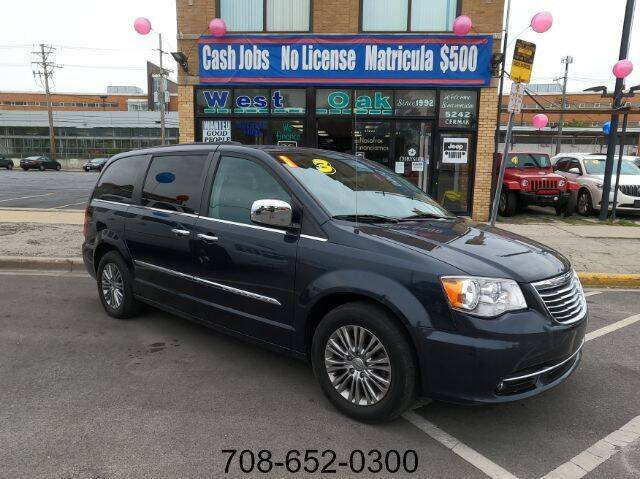 2013 Chrysler Town and Country for sale at West Oak in Chicago IL