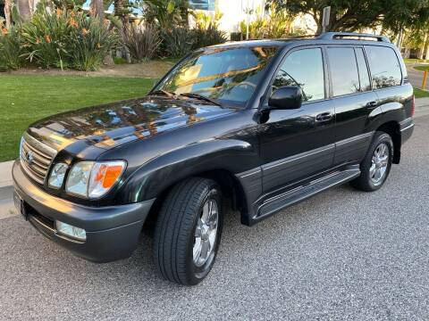 2004 Lexus LX 470 for sale at Donada  Group Inc in Arleta CA