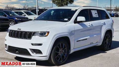 2021 Jeep Grand Cherokee for sale at Meador Dodge Chrysler Jeep RAM in Fort Worth TX