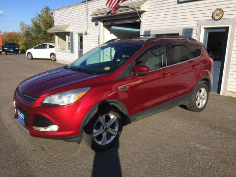 2013 Ford Escape for sale at CLARKS AUTO SALES INC in Houlton ME