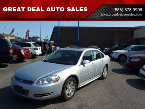 2012 Chevrolet Impala for sale at GREAT DEAL AUTO SALES in Center Line MI