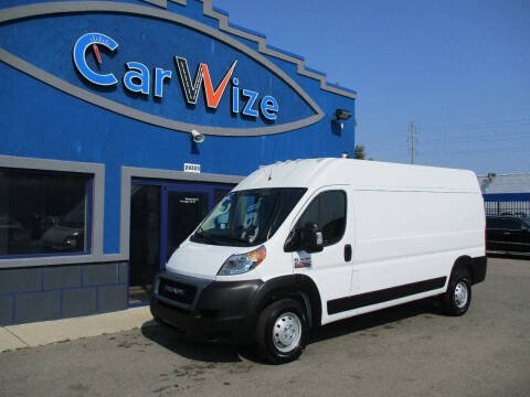 2019 RAM ProMaster Cargo for sale at Carwize in Detroit MI