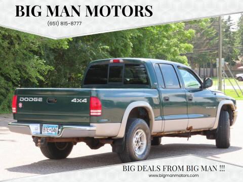 2000 Dodge Dakota for sale at Big Man Motors in Farmington MN