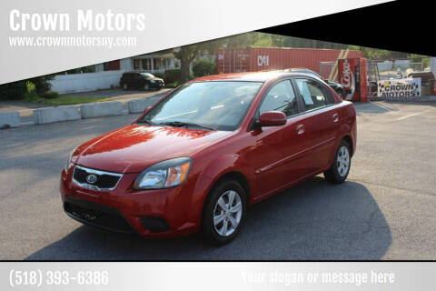 2011 Kia Rio for sale at Crown Motors in Schenectady NY