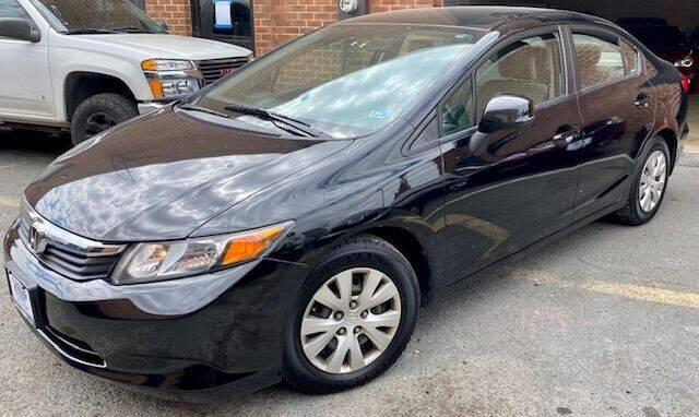 2012 Honda Civic for sale at Capitol Auto Sales Inc in Manassas VA