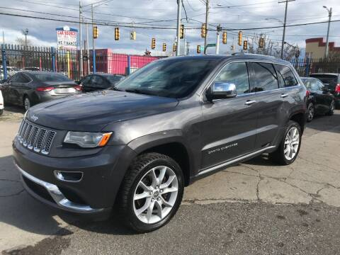 2014 Jeep Grand Cherokee for sale at SKYLINE AUTO in Detroit MI