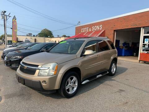 2006 Chevrolet Equinox for sale at Cote & Sons Automotive Ctr in Lawrence MA
