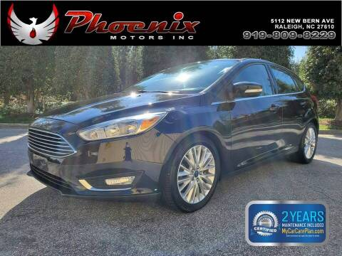 2015 Ford Focus for sale at Phoenix Motors Inc in Raleigh NC