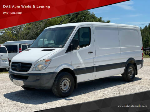 2012 Mercedes-Benz Sprinter Cargo for sale at DAB Auto World & Leasing in Wake Forest NC