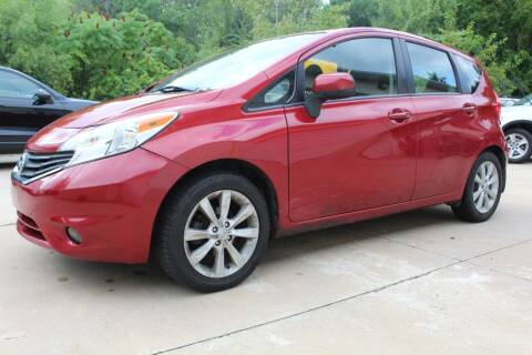 2014 Nissan Versa Note for sale at CHIPPERS LUXURY AUTO, INC in Shorewood IL