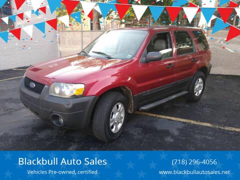 2006 Ford Escape for sale at Blackbull Auto Sales in Ozone Park NY