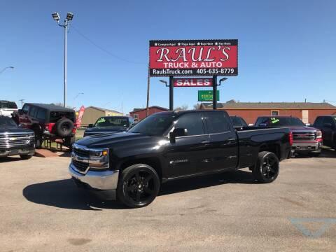2016 Chevrolet Silverado 1500 for sale at RAUL'S TRUCK & AUTO SALES, INC in Oklahoma City OK