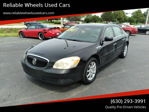 2008 Buick Lucerne for sale at Reliable Wheels Used Cars in West Chicago IL
