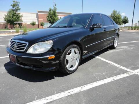 2001 Mercedes-Benz S-Class for sale at Pammi Motors in Glendale CO