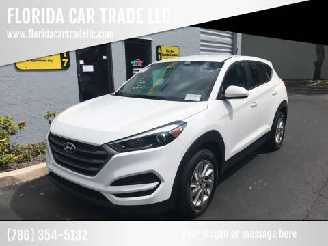 2016 Hyundai Tucson for sale at FLORIDA CAR TRADE LLC in Davie FL