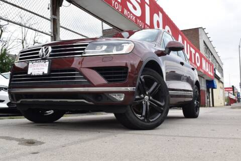 2017 Volkswagen Touareg for sale at HILLSIDE AUTO MALL INC in Jamaica NY