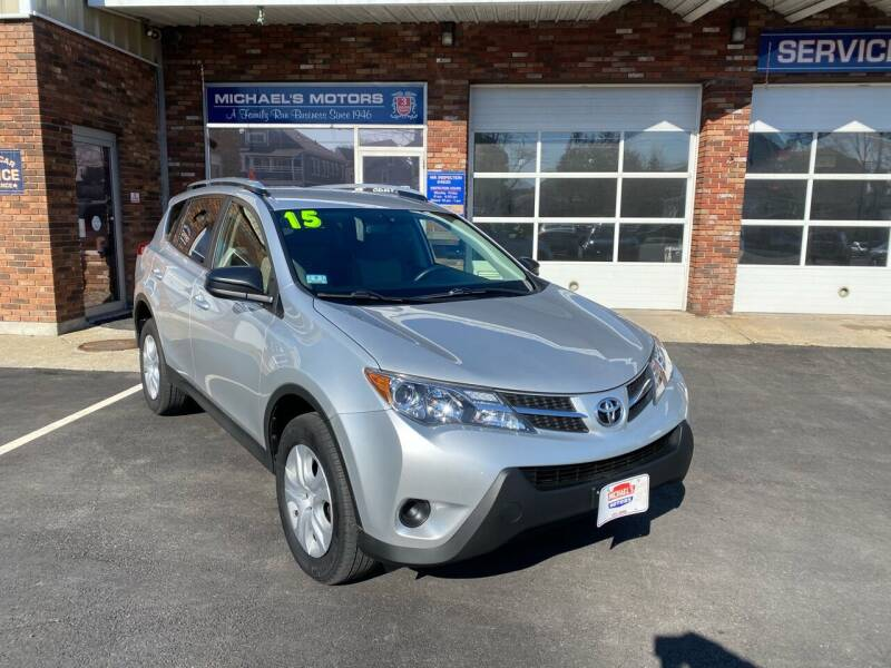 2015 Toyota RAV4 for sale at Michaels Motor Sales INC in Lawrence MA