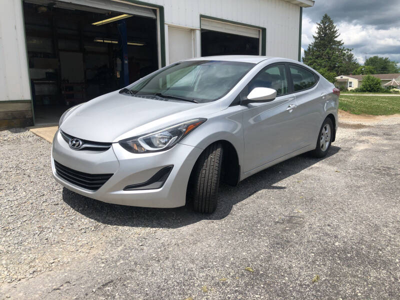2015 Hyundai Elantra for sale at Purpose Driven Motors in Sidney OH