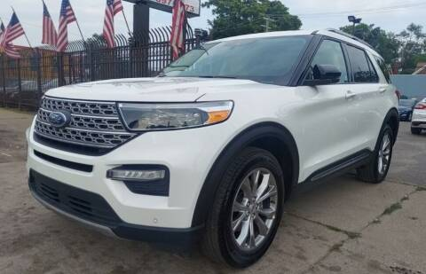 2021 Ford Explorer for sale at Gus's Used Auto Sales in Detroit MI