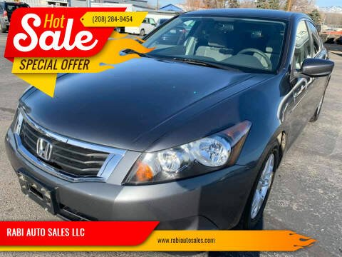 2010 Honda Accord for sale at RABI AUTO SALES LLC in Garden City ID