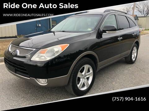 2011 Hyundai Veracruz for sale at Ride One Auto Sales in Norfolk VA