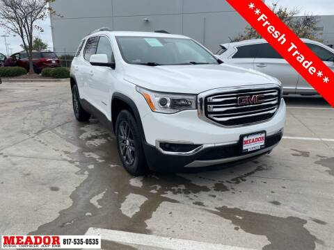 2018 GMC Acadia for sale at Meador Dodge Chrysler Jeep RAM in Fort Worth TX