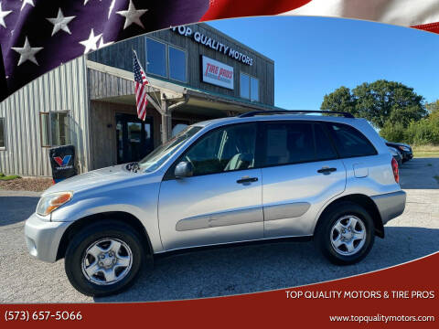 2005 Toyota RAV4 for sale at Top Quality Motors & Tire Pros in Ashland MO
