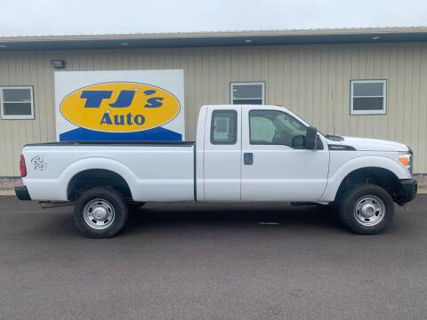 2012 Ford F-250 Super Duty for sale at TJ's Auto in Wisconsin Rapids WI
