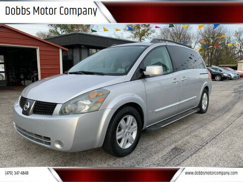 2004 Nissan Quest for sale at Dobbs Motor Company in Springdale AR