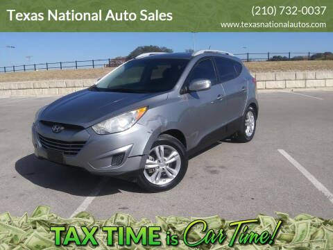 2012 Hyundai Tucson for sale at Texas National Auto Sales in San Antonio TX