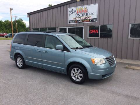 2010 Chrysler Town and Country for sale at KEITH JORDAN'S 10 & UNDER in Lima OH