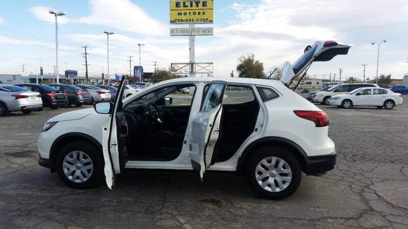 2019 Nissan Rogue Sport for sale at ELITE MOTORS in Victorville CA