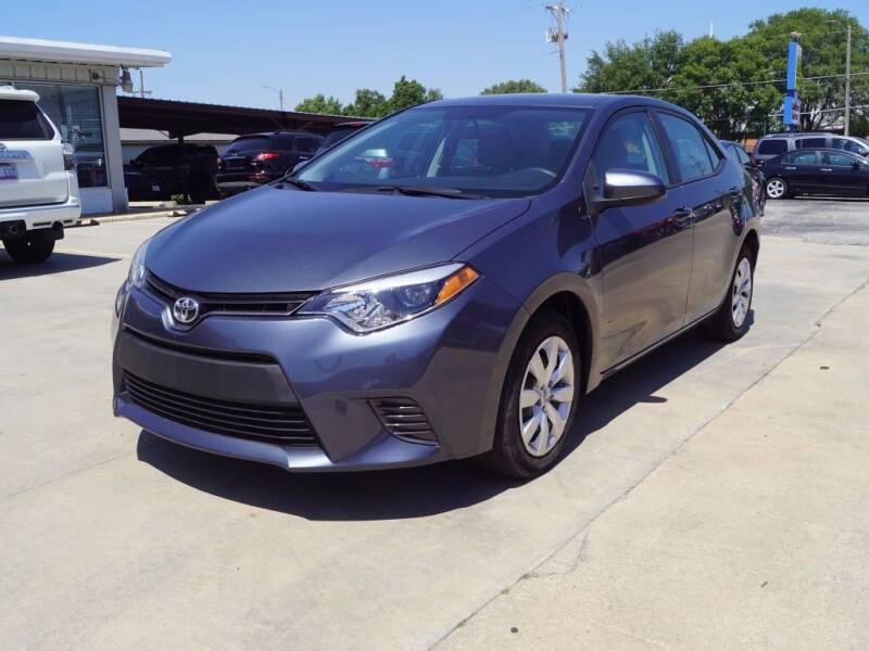 2016 Toyota Corolla for sale at Kansas Auto Sales in Wichita KS