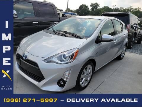 2015 Toyota Prius c for sale at Impex Auto Sales in Greensboro NC