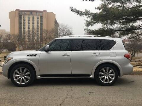2012 Infiniti QX56 for sale at Automan Auto Plaza in Kansas City MO