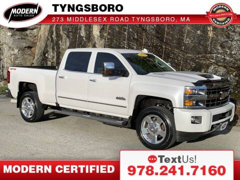 2019 Chevrolet Silverado 2500HD for sale at Modern Auto Sales in Tyngsboro MA