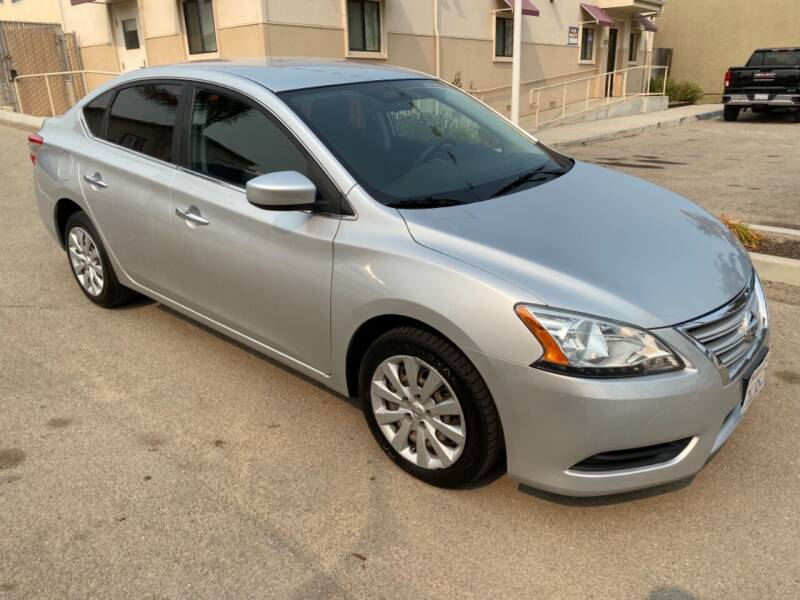 2015 Nissan Sentra for sale at Central Coast Auto Wholesale in Grover Beach CA