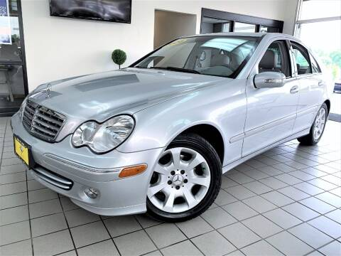 2006 Mercedes-Benz C-Class for sale at SAINT CHARLES MOTORCARS in Saint Charles IL