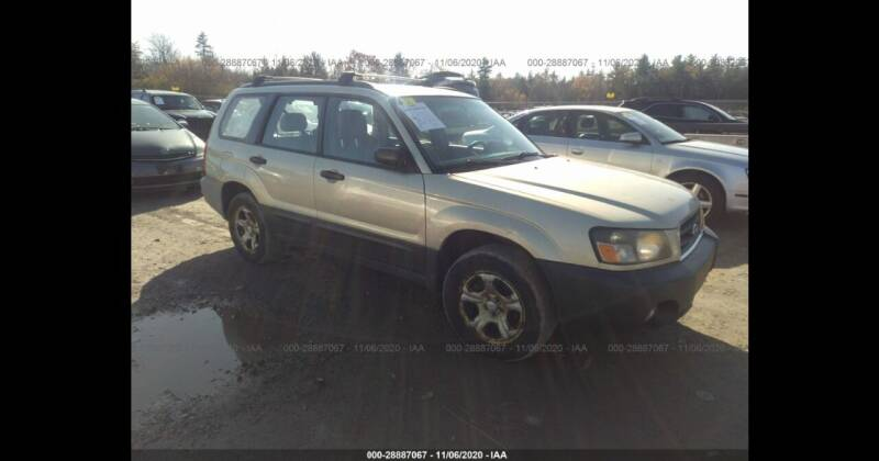 2005 Subaru Forester for sale at Route 28 Auto Sales in Canton MA