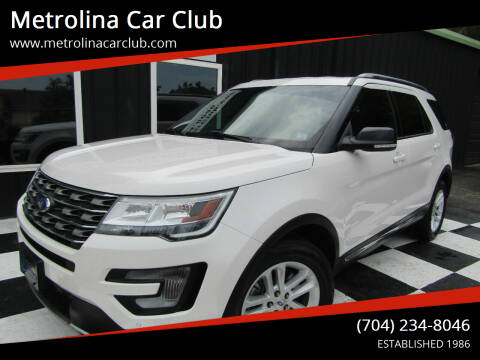 2017 Ford Explorer for sale at Metrolina Car Club in Matthews NC