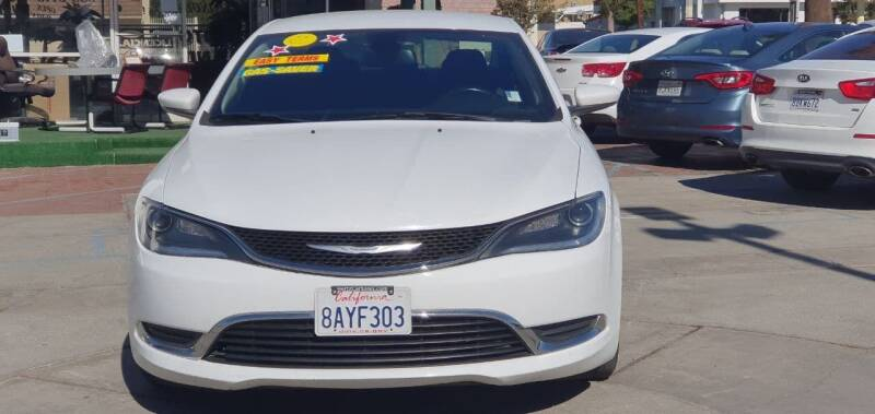 2016 Chrysler 200 for sale at Auto Land in Ontario CA