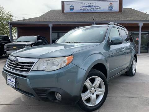 2009 Subaru Forester for sale at Global Automotive Imports in Denver CO