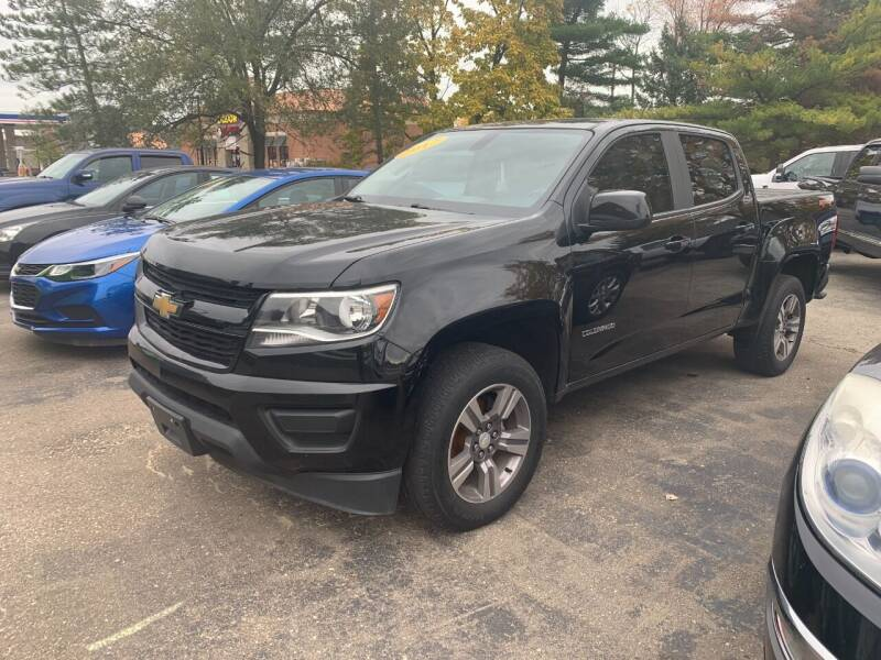 2017 Chevrolet Colorado for sale at Leonard Enterprise Used Cars in Orion MI