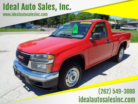 2007 GMC Canyon for sale at Ideal Auto Sales, Inc. in Waukesha WI