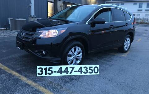 2012 Honda CR-V for sale at Dominic Sales LTD in Syracuse NY