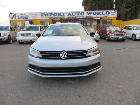 2015 Volkswagen Jetta for sale at Import Auto World in Hayward CA