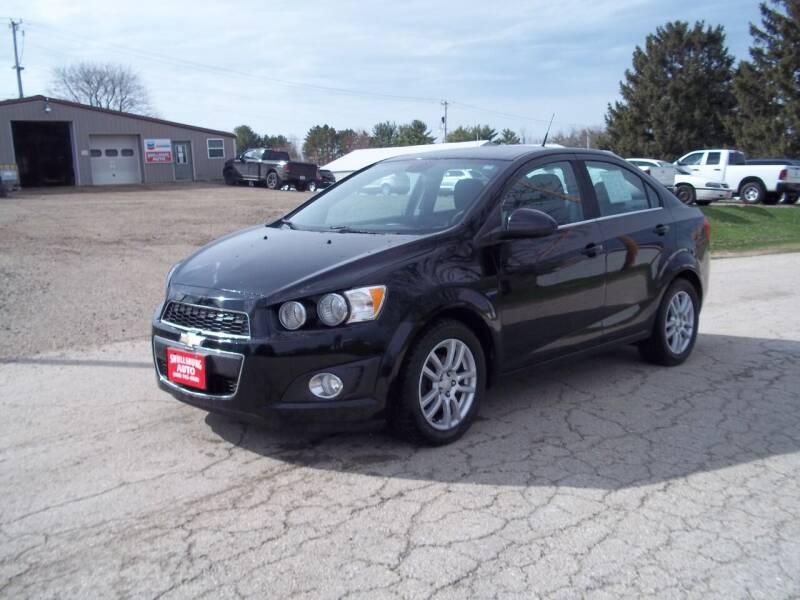 2012 Chevrolet Sonic for sale at SHULLSBURG AUTO in Shullsburg WI