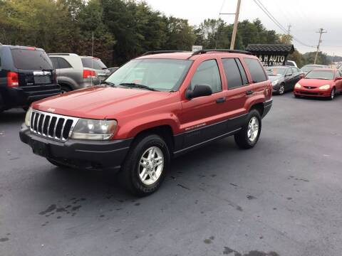 2003 Jeep Grand Cherokee for sale at A & H Auto Sales in Greenville SC