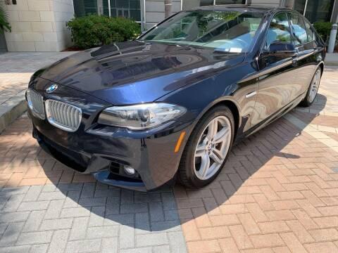 2016 BMW 5 Series for sale at Mirabella Motors in Tampa FL